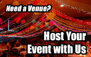 need a venue?  Host your event with us
