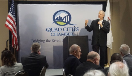 Governor Discusses Changes to Get Illinois Back on Track