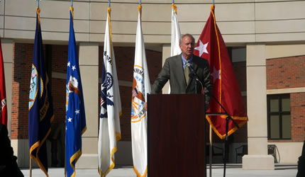 Governor Rauner Attends DISA Global Facility Ribbon Cutting Ceremony