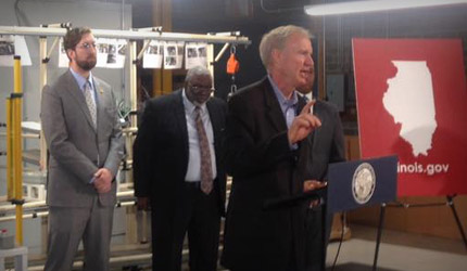 Governor Rauner Holds Townhall to Discuss Economic Reforms