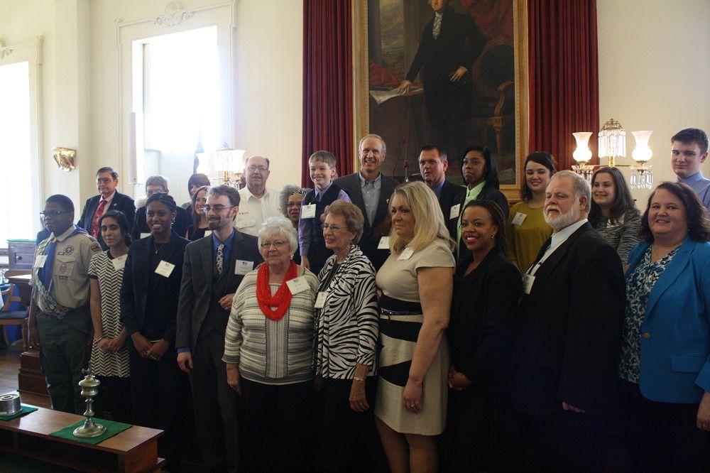 Governor's Volunteer Service Awards - Featured Volunteers