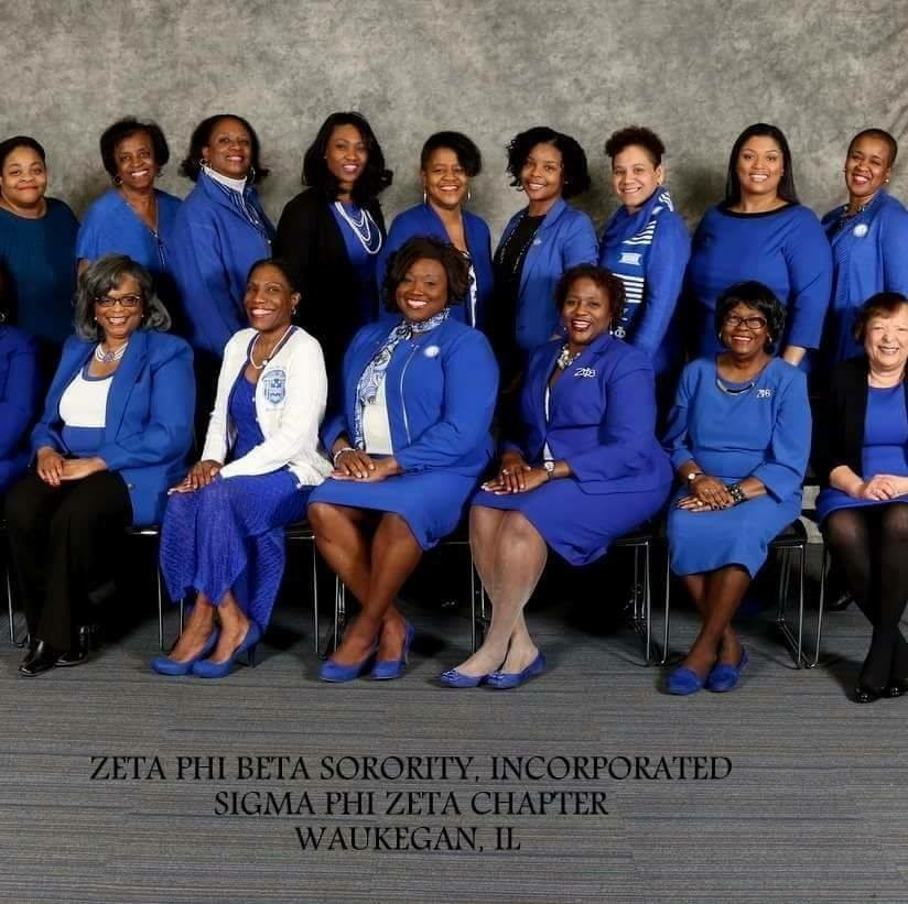 Sigma Phi Zeta Chapter of Zeta Phi Beta Sorority of Waukegan
