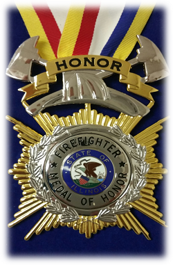 Illinois Fallen Firefighter Memorial and Medal of Honor Ceremony