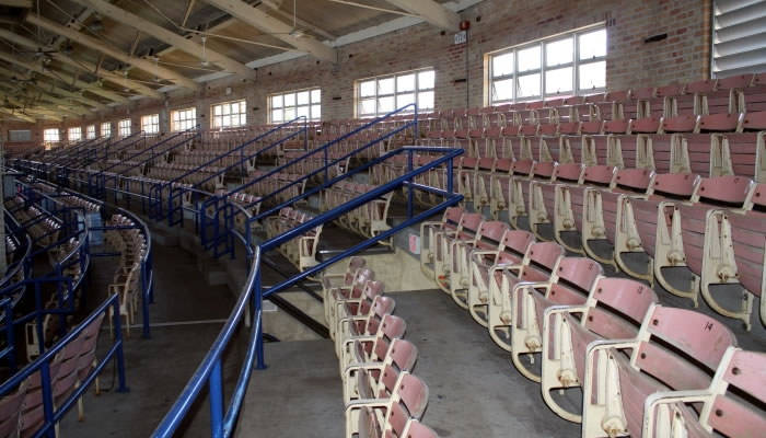 The Coliseum seating