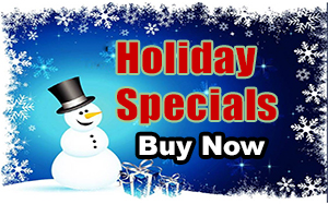 Holiday Specials, Buy Now.