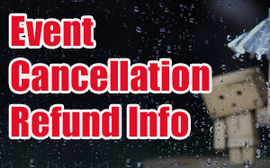 Concert Rained out refund form