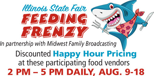 Illinois State Fair Feeding Frenzy