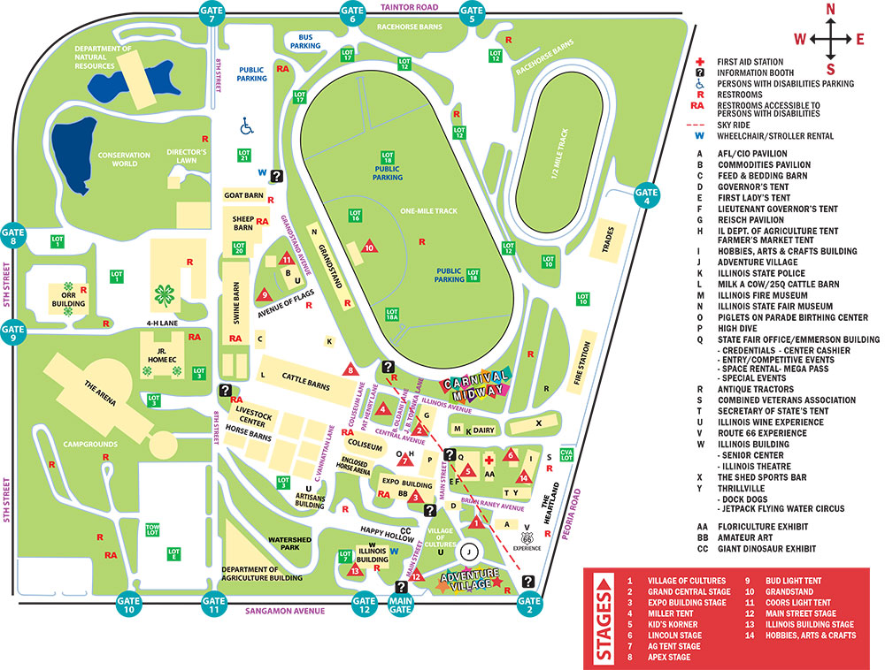 Maps & Directions - General Info Map Get on